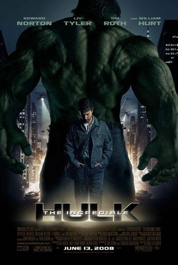 Póster de 'El Increíble Hulk'