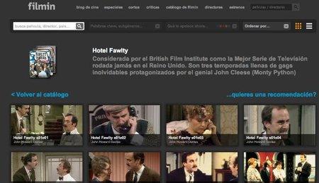 Filmin incorpora por primera vez series a su catálogo de streaming