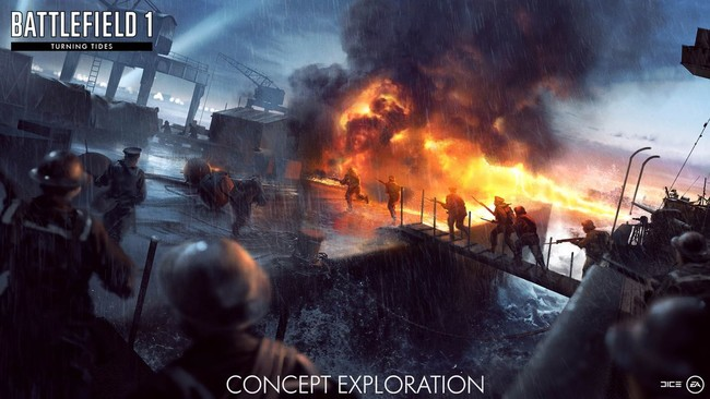 El Mar del Norte llega hasta Battlefield 1: Turning Tides, y DICE nos trae su tráiler de lanzamiento
