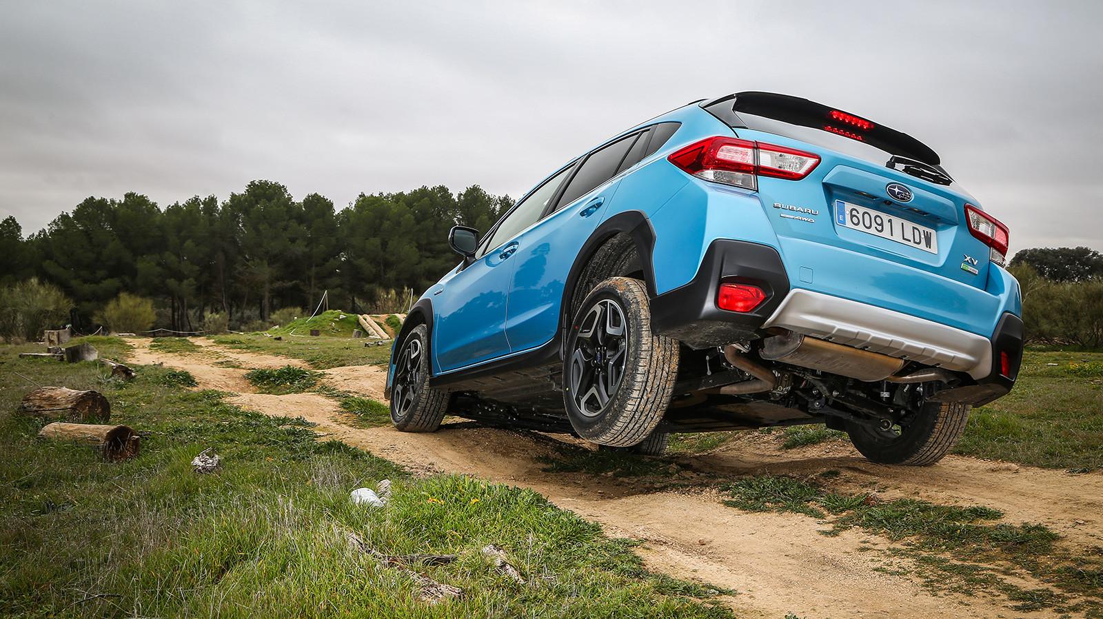 Foto de Subaru XV ECO HYBRID 2020, a prueba (1/35)