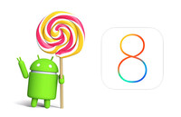 Android 5.0 Lollipop o iOS 8, ¿cuál es más estable?