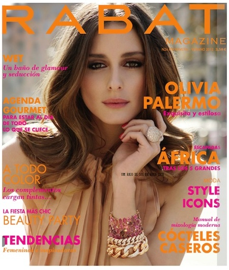Olivia Palermo triunfa en Rabat Magazine
