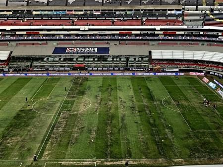 México se queda sin partido de NFL, el nuevo césped híbrido del Estadio Azteca no cumplió las normas de seguridad