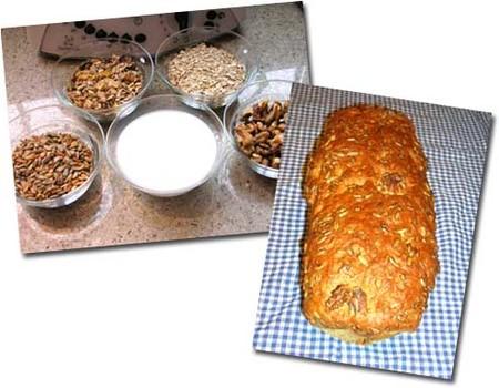 Elaboración de pan integral con muesli