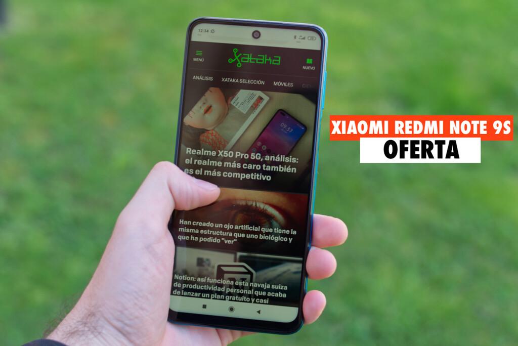 El Xiaomi Redmi Note 9S baja a precio récord y ya es uno de los más vendidos en eBay: llévatelo hoy por 157 euros con envío gratis