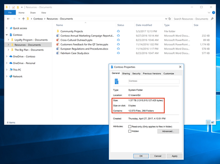 Introducing Onedrive Files On Demand 1