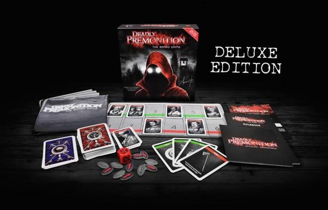 El juego de mesa de Deadly Premonition saldrá a la venta oficialmente a finales de enero