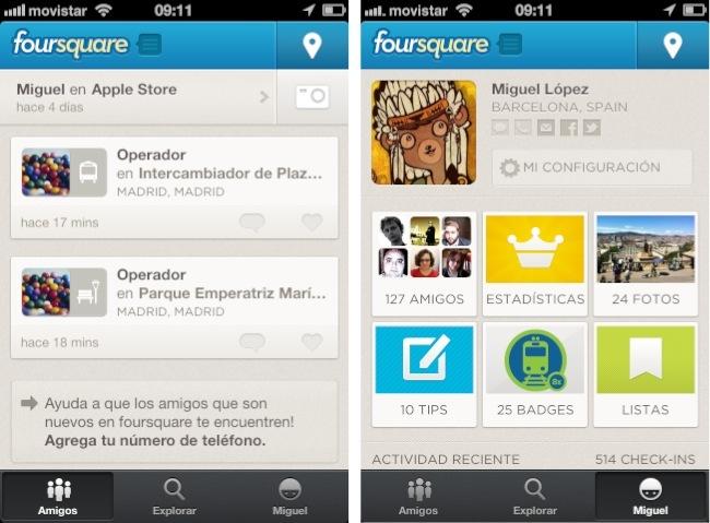 foursquare iphone ios
