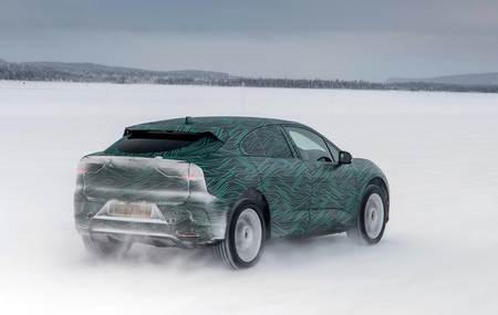 Jaguar I-Pace avance