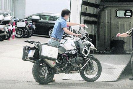 BMW bóxer refrigerada por líquido, segunda ronda de fotos espía