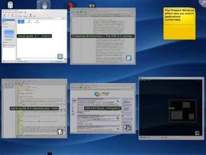 KDE 4 Expose