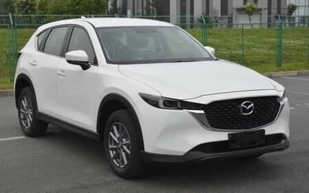 Mazda Cx 5 2022 Facelift Foto Espia 3