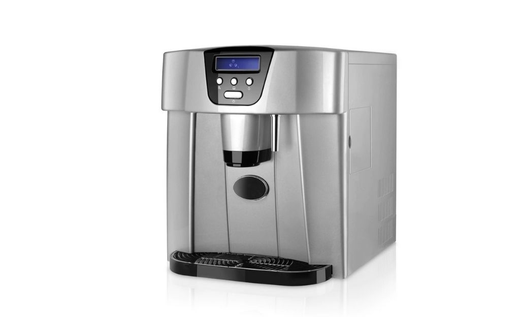 Máquina de hielo para hacer cubitos y dispensador de agua Taurus MG17 Elegance, 15kg de cubitos en 24h.