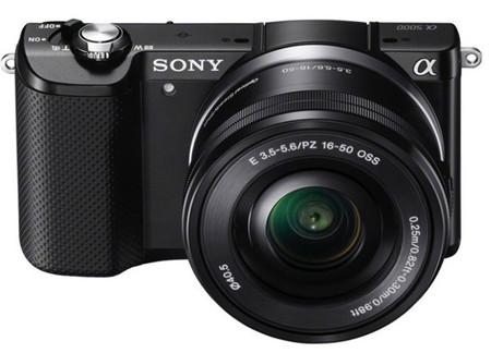Sony A5000, presume de ser la compacta con lentes intercambiables más pequeña y ligera