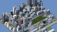 Dos años de trabajo y 4,5 millones de bloques para crear esta ciudad en Minecraft para Xbox 360