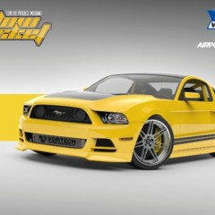vortech-ford-mustang-yellow-jacket