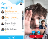 Skype para Windows Phone 8 se actualiza pero sigue aún en fase beta
