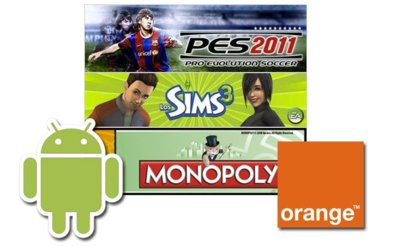 Orange abre una tienda de juegos para Android