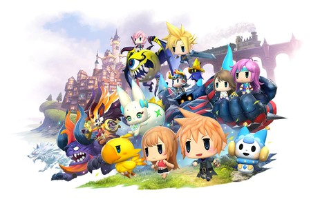 Square Enix anuncia World of Final Fantasy: Meli-Melo para dispositivos móviles