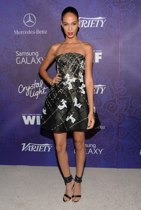 Joan Smalls fiestas emmy 2014