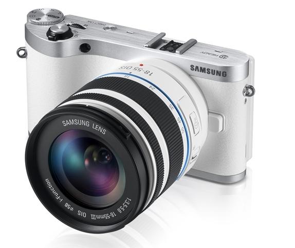 Samsung NX300 color blanco