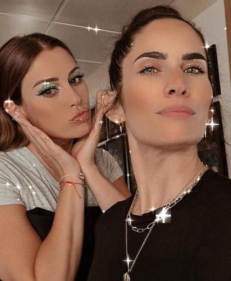 Blanca Suárez apuesta por un espectacular maquillaje de ojos en azul en El Hormiguero, ideal para copiar una noche de verano