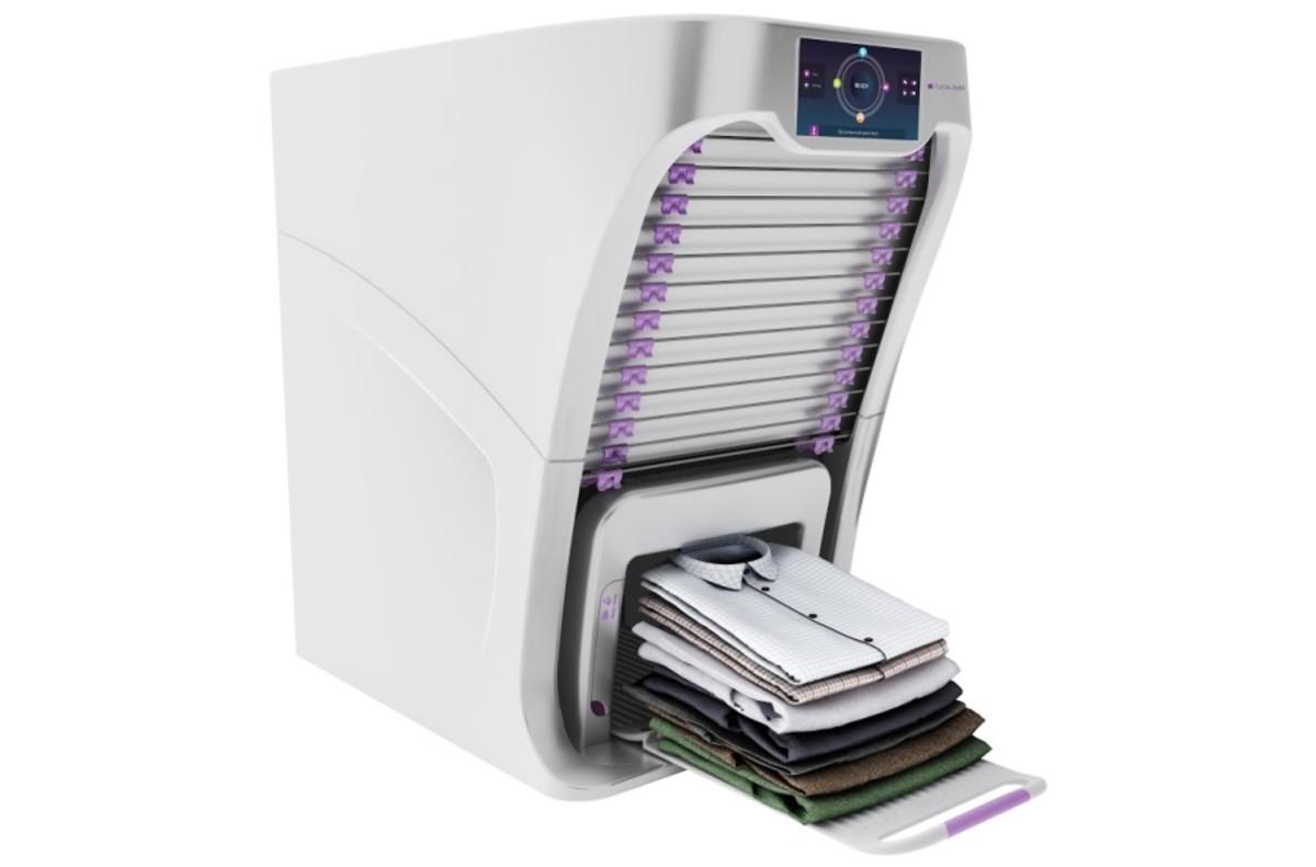 Dentro de poco no tendrás que planchar y doblar la ropa con este dispositivo