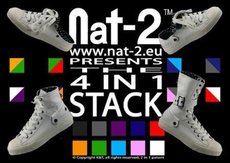 Nat2, cuatro zapatillas en una