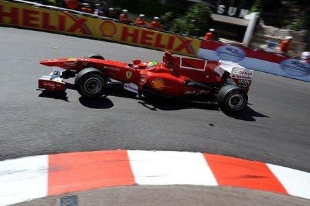 Felipe Massa salva los trastos de Ferrari en los libres 3 de Mónaco con el segundo mejor tiempo