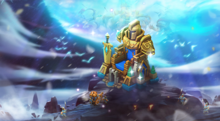 Lords Tales Exclusive Castle Skin Grand Throne