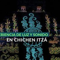 Video mapping al servicio de la historia, así luce el espectáculo lumínico de Chichén Itzá