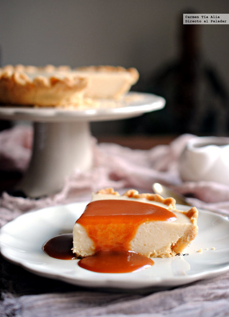 pastel de crema pastelera