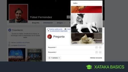 Encuestas en Facebook: cómo crearlas y cómo poner GIFs en las respuestas
