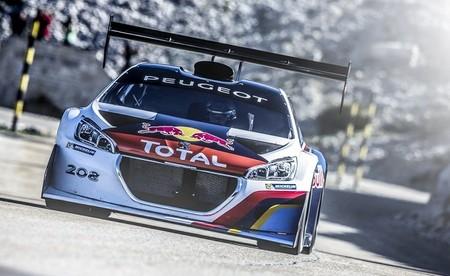 Sébastien Loeb se prepara para el Pikes Peak en el Mont Ventoux