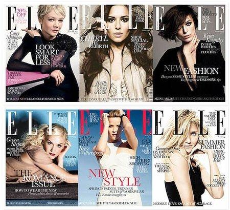¿Cuál ha sido la mejor portada de Elle UK del 2011?