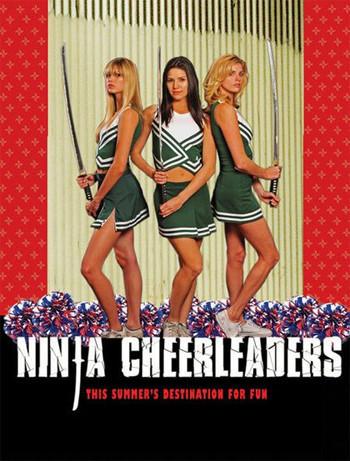 Póster y trailer de 'Ninja Cheerleaders', increíble pero cierto