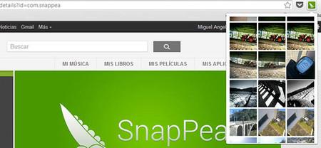 Gestiona el archivo fotográfico de tu Android remotamente con SnapPea