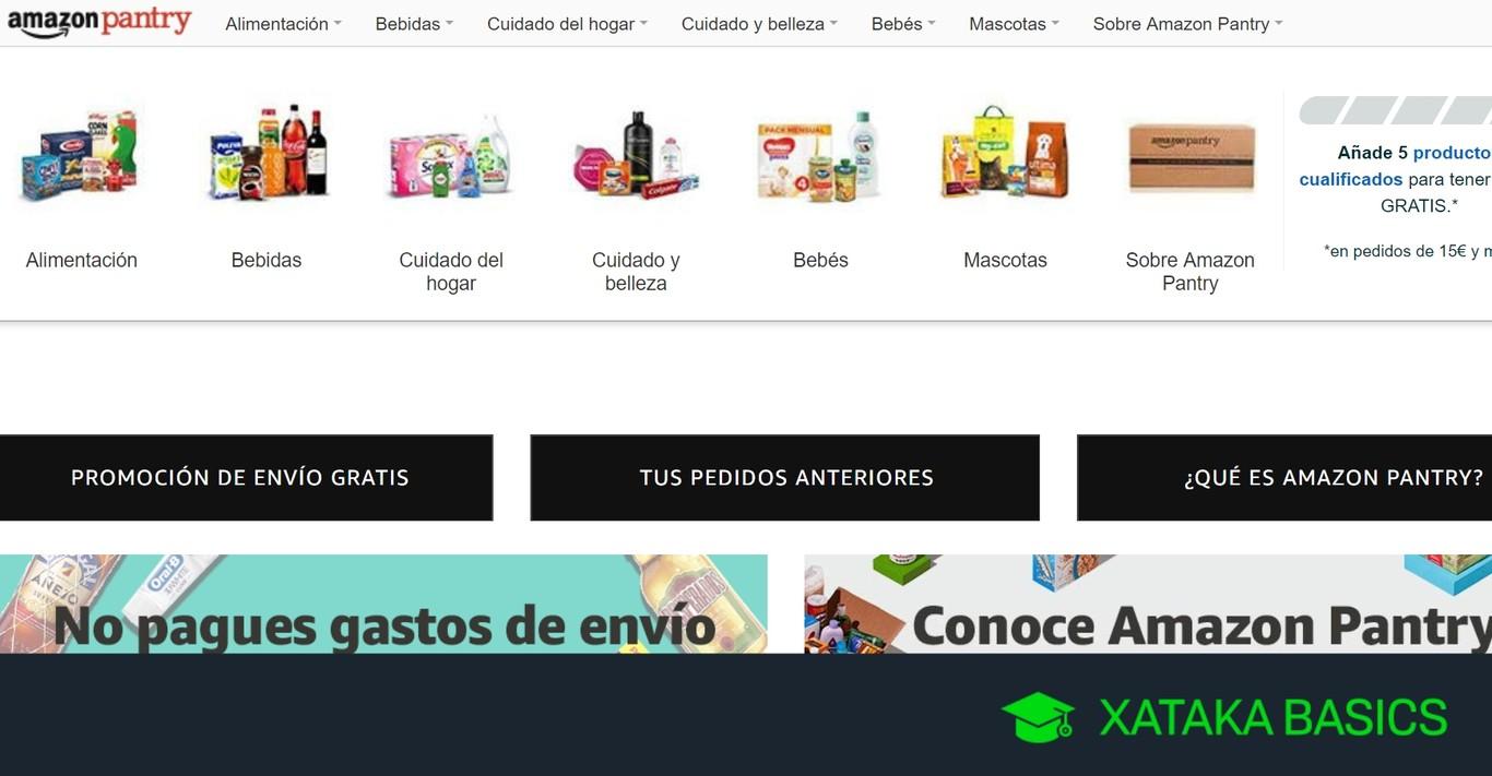 Amazon Pantry: qué es, cómo funciona y cómo usar el