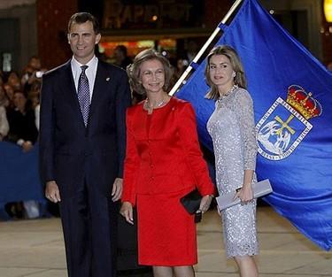La Princesa Letizia en la entrega de los Premios Principe de Asturias