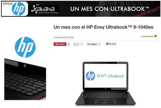 Espacio HP Ultrabook