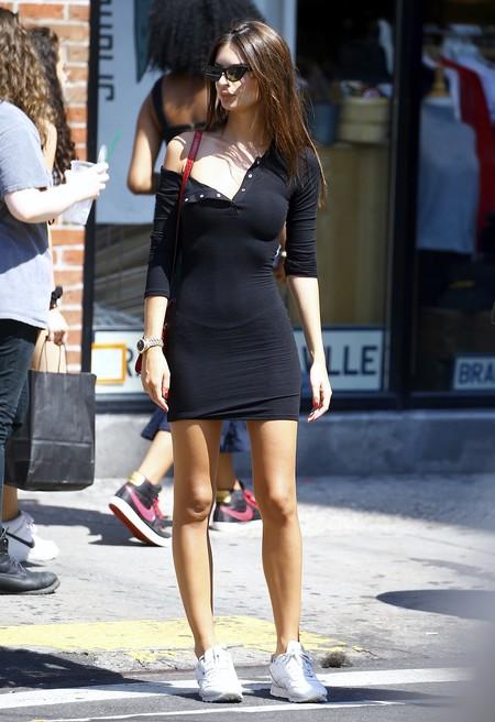 Combinar Vestido Negro Verano 6