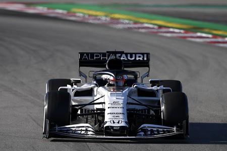 Gasly Montmelo F1 2020