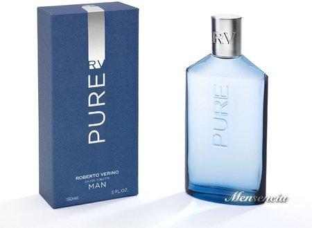 Probamos Pure, la nueva y más fresca fragancia de Roberto Verino