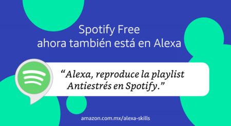 Spotify Gratis Amazon Eco Alexa Mexico