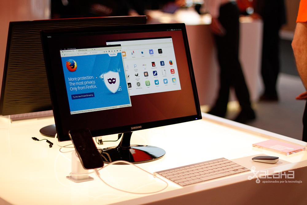 Foto de Canonical y Ubuntu en MWC16 (2/23)