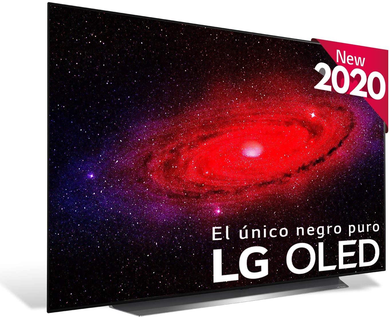 """TV OLED 55"""" - LG OLED55CX5LB, UHD 4K, (3840 x 2160 píxeles), A9, 4 x HDMI 2.1, 3 x USB 2.0, A, Negro"""