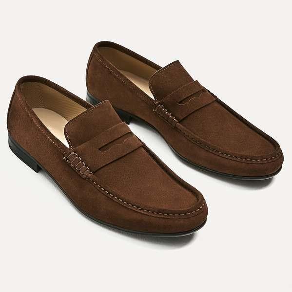 Penny loafer marrón