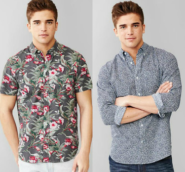 ¿Manga corta o manga larga para las camisas de esta primavera-verano 2015?