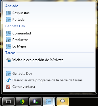 pinned mode explorer 9