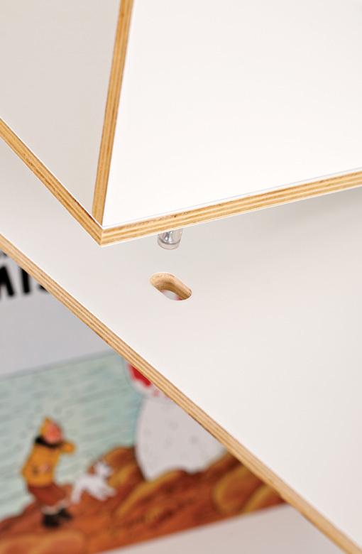 Foto de Feria Hábitat 2010: BrickBox, una ingeniosa estantería modular (4/7)